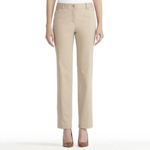 Women's black, taupe, white casual and dress pants, sizes 6-8 London Ontario image 3