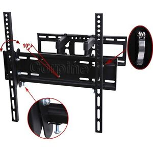Full Motion Plasma LCD LED TV Tilt Wall Mount 26 32 37 40 42 46 47 50 52 55 m4z
