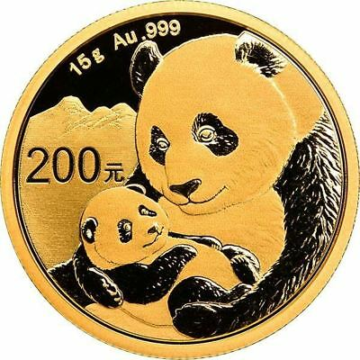 Chinese Gold Coins (2019 15 Gram Chinese Gold Panda Coin)