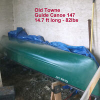 OLD TOWNE GUIDE CANOE 147 - FOR SALE
