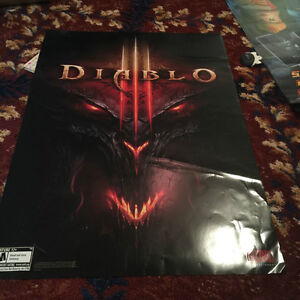 Large Collection of Anime/Game Posters West Island Greater Montréal image 6