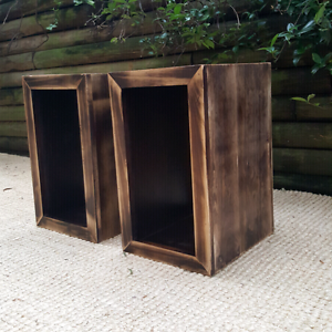 Distressed Timber Bedside or Side Tables Coogee Eastern Suburbs Preview