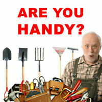 ARE YOU HANDY? WE'RE HIRING!