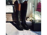 Men's horse riding boots