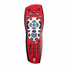 Liverpool FC Sky + HD Remote
