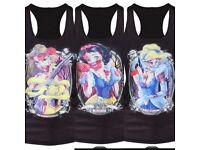 3 x New Vests Zombie Snow White, Zombie Belle & Zombie Cinderella