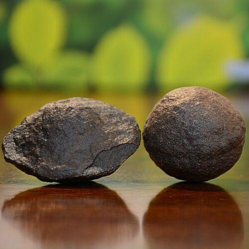 Beautiful Pair of Moqui Marbles (Shaman Stones) from Utah 198 grams