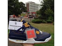 Nike air Jordan 4 retro dunk from above U.K. 9.5