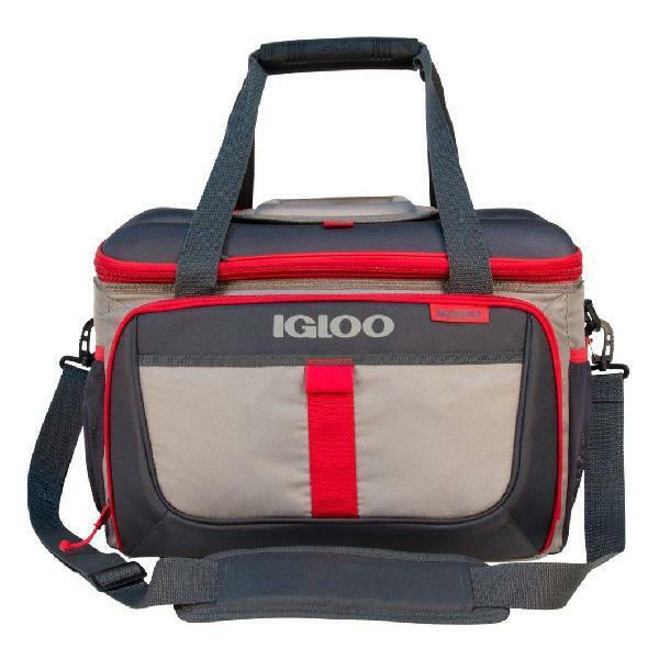 Igloo Outdoorsman Collapsible 50-Can Cooler, Leak-resistant,