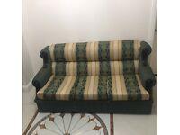 Vintage style sofa set