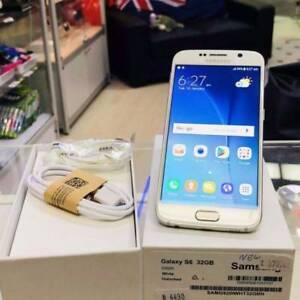New Samsung Galaxy S6 32GB White 4G AUS Model 1 Year Warranty Surfers Paradise Gold Coast City Preview