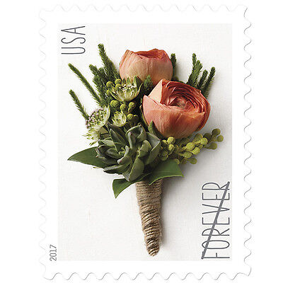 USPS New Celebration Boutonniere pane of 20