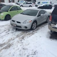 2008 Mitsubishi Eclipse Coupe 2 door Leather and Navigation