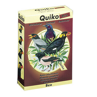 Pet Bird Diet Food with Bugs Fruit & Nuts for Blackbird Mynah Birds 600gr QUIKO