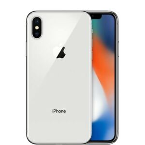 iPhone X 256GB Silver FOR SALE!