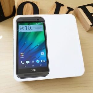 Pre owned HTC ONE M8 space grey 32G au model with charger Calamvale Brisbane South West Preview