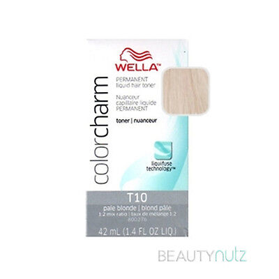 Wella Color Charm Liquid Hair Toner and Additive 1.42 oz (Choose from 10 colors)