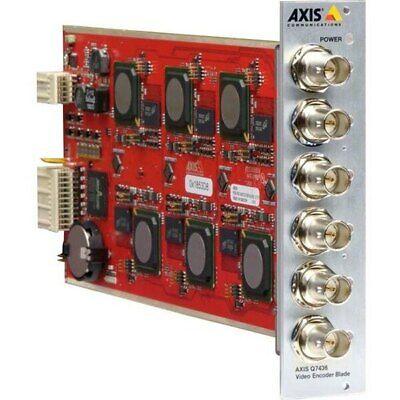 Axis Q7436 6-channel Video Encoder Blade 0584-001
