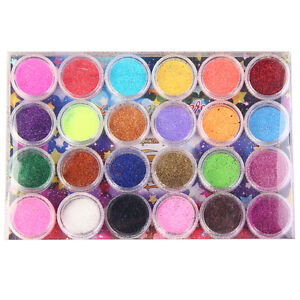 perfect Fine Dust Glitter Nail Art Face Body Eye Shadow Craft Paint Iridescent