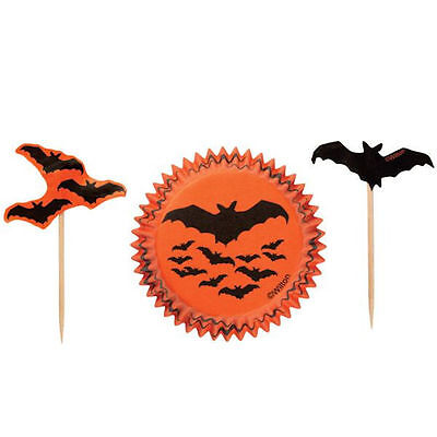 Halloween Vampire Bat Cupcake Combo Pack from Wilton 0282 NEW - Wilton Halloween Cupcake Combo Pack