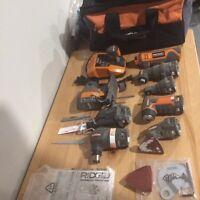 Ridgid Jobmax combo kit 12 volt with 7 tools