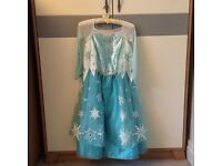 Elsa and Anna Frozen dresses 7-8