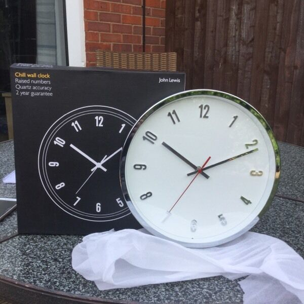 John Lewis Wall Clock