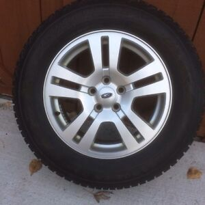 "17"" Ford Edge Rims and Tires"