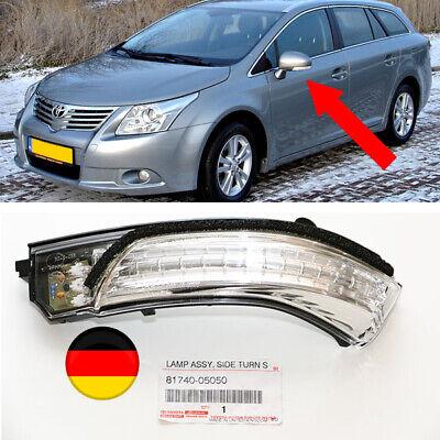 Toyota Avensis 09-15 Blinker Außenspiegel Spiegelblinker Links OEM 81740-05050 ()