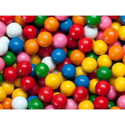 200 Assorted Gumballs 1 Inch Vending Dubble Bubble Bulk Gum Balls Free Shipping