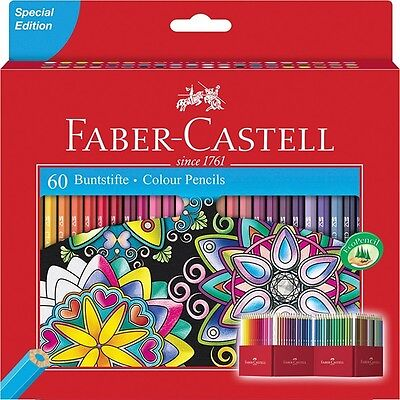 Faber Castell Matite Colorate - 60 Pastelli - Special Edition - 111260