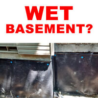 BASEMENT WATERPROOFING - WET BASEMENT