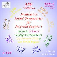 Meditiative Sound Frequencies for Internal Organs 1