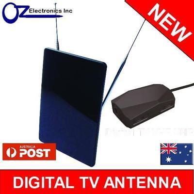 Hdtv Digital Flat-panel (NEW Greentek Flat Panel indoor Amplified Antenna Digital HD TV good 4 Inner City)