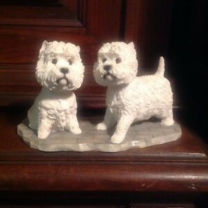 THE LEONARDO COLLECTION WEST HIGHLAND TERRIERS  2002