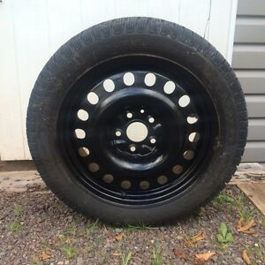 235/45/17 TIRES AND RIMS