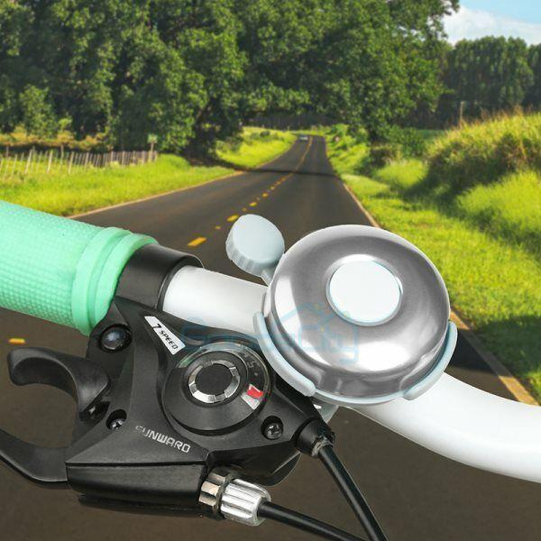 Road Bicycle Handlebar Bells Safety Horn 90db Loud Manual Horn MTB Alarm Ring AL