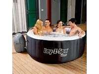 Brand new and boxed lay z spa hot tub perfect Christmas gift