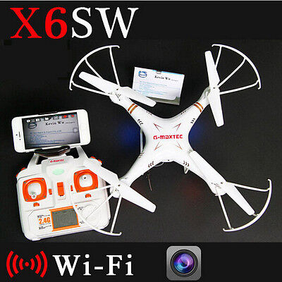 X6sw WIFI Toys Camera RC helicopter drone quadcopter gopro authoritative drones