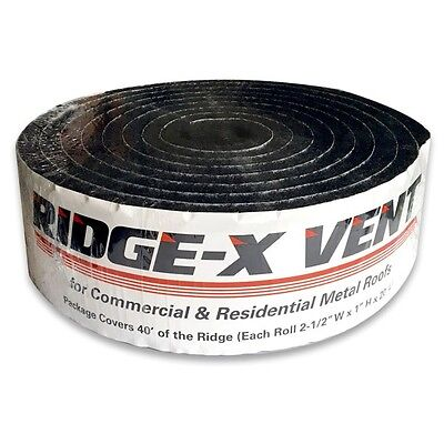 Sidewall Rain Screen Ridge-x Vent Sealing Foam For Woodfiberhardboard Siding