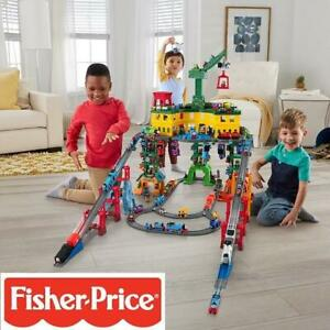 NEW FISHER PRICE SUPER STATION FGR22 243322606 THOMAS AND FRIEND PLAYSET