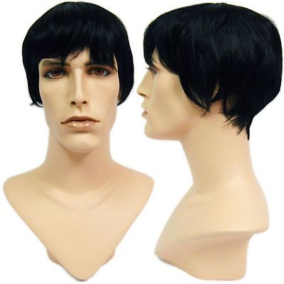 WG-051 Dark College Cut David Wig (Halloween/Party/Costume/Cosplay) Wig Only](College Halloween Costumes For Men)