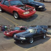 Attn mustang fox body owners of Edmonton and surrounding areas