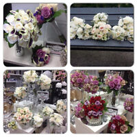 THE WEDDING FLORIST•EVENT DECOR•RENTALS AVAILABLE•PACKAGES