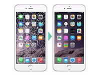 iphone lcd screen replacement repair fix clapham wimbledon canary wharf | 7 days a week