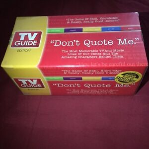 Don't quote me TV game brand new sealed London Ontario image 1