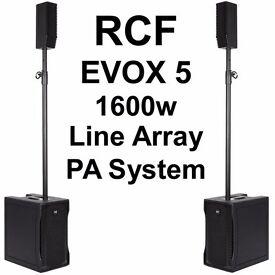 RCF EVOX 5 (POWERED PA SPEAKERS )