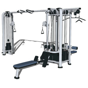 5 Stack Life Fitness Commercial System