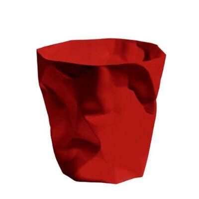 Klein & More Papierkorb Bin Bin Rot