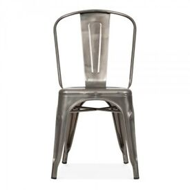 BNIB industrial style tolix chairs